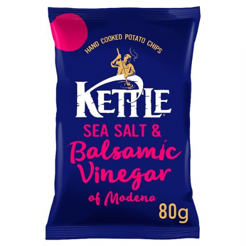 KETTLE® Sea Salt & Balsamic Vinegar of Modena 80g (UK)
